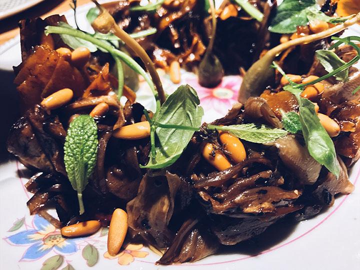 Verduras a la Napolitana